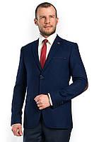 Мужской пиджак с латками на локтях Victor Enzo 5010