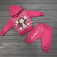 67a05fa9 Детский костюм спортивный тёплый с начёсом для девочек оптом р.1-2-3