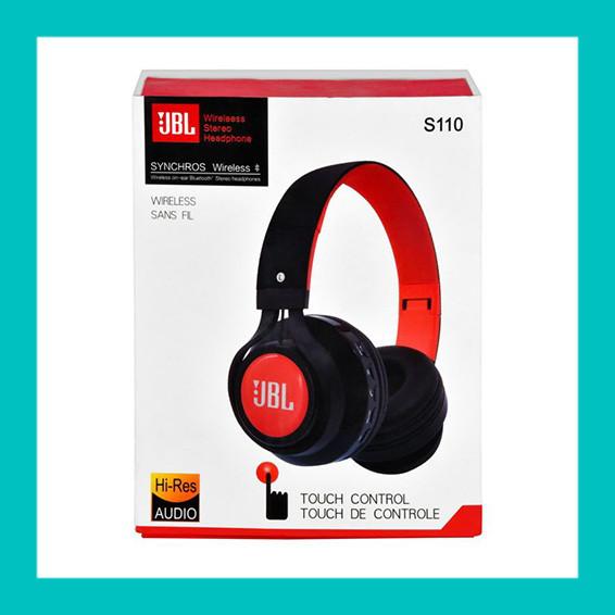 Беспроводные наушники JBL S110 Bluetooth (ОРАНЖЕВЫЕ) - Магазин