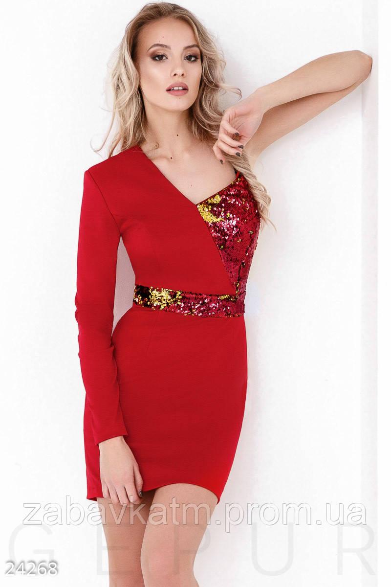 4f7a5c4cf13 Комбинированное коктейльное платье