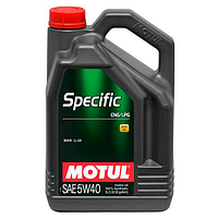 Масло моторное Motul Specific CNG/LPG 5W-40 5л