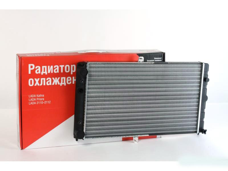 Радиатор водяного охлаждения ВАЗ 2110, 2111,2112 (карбюратор) (TEMPEST)