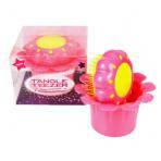 Расческа Tangle Teezer Magic Flowerpot для детей. Розовая.