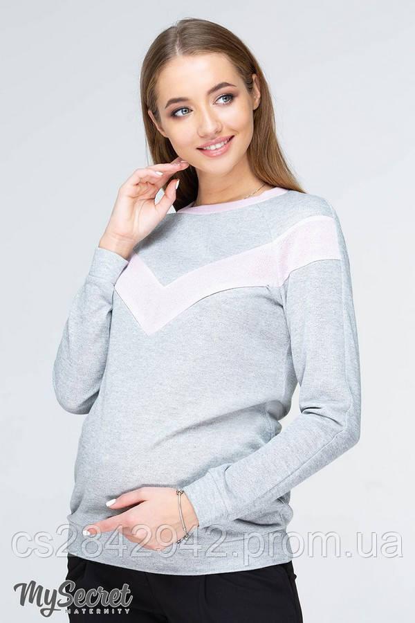 Світшот для вагітних і годуючих (свитшот для беременных и кормящих) ORLA LIGHT NR-19.041