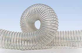 Шланг полиуретановый аспирационный стенка 0,5-1,5 мм (рукав полиуретановый) ф40-354 мм