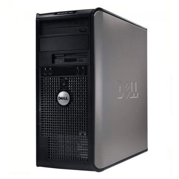 Системный блок Dell OptiPlex 380-Mini tower-Intel Pentium E5500-2.80GHz-2Gb-DDR3-HDD-250Gb-DVD-R- Б/