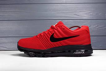 Мужские Кроссовки Nike Air Max 2017 красные