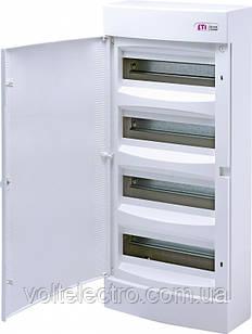 Щит наружный распределительный ЕСТ 48 РТ (48 мод. прозрачная дверь) 1101020