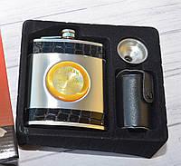Подарочный набор Фляга 4 рюмки Jim Beam (Джим Бим)