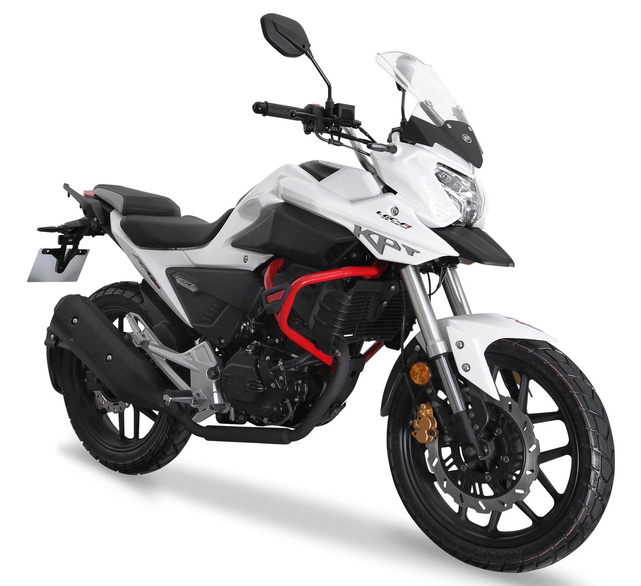 Мотоцикл Lifan KPT200 (Lf200-10L) Белый