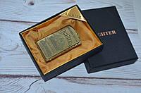 Зажигалка Джим Бим в подарочной упаковке премиум класса., фото 1