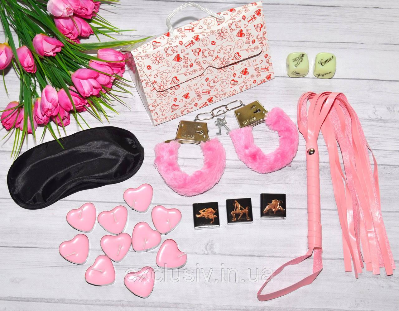 Секс набор для утех розовый, фото 1