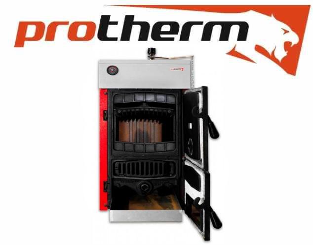 Котел твердотопливный Protherm бобер 50 DLO (35\39 Квт) длительного горения