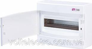 Щит наружный распределительный ЕСТ 12 РO (12 мод. белая дверь) 1101006