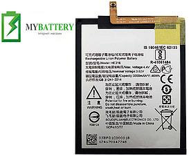 Оригинальный аккумулятор АКБ батарея для Nokia 6 HE317 3000мAh 3.82V