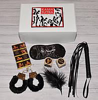 Набор эротический Камасутра Black 6 в 1, фото 1