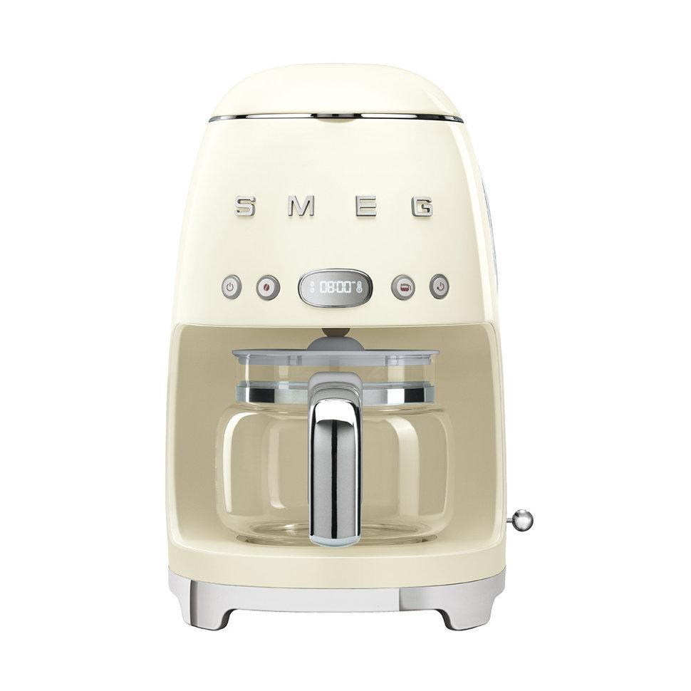 Кофеварка капельная Smeg кремовая DCF01CREU