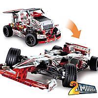 """Конструктор Decool 3366 Technic """"Чемпион Гран При"""" 1141 деталей (совместим LEGO:42000)"""