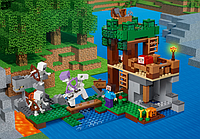 "Конструктор LELE 33227 Minecraft ""Нападение армии скелетов"" 462 деталей (Аналог Lego Minecraft 21146)"