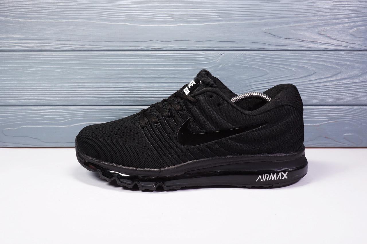 Мужские кроссовки Nike Air Max 2017 черные