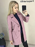 Женское модное пальто на пуговицах, фото 1