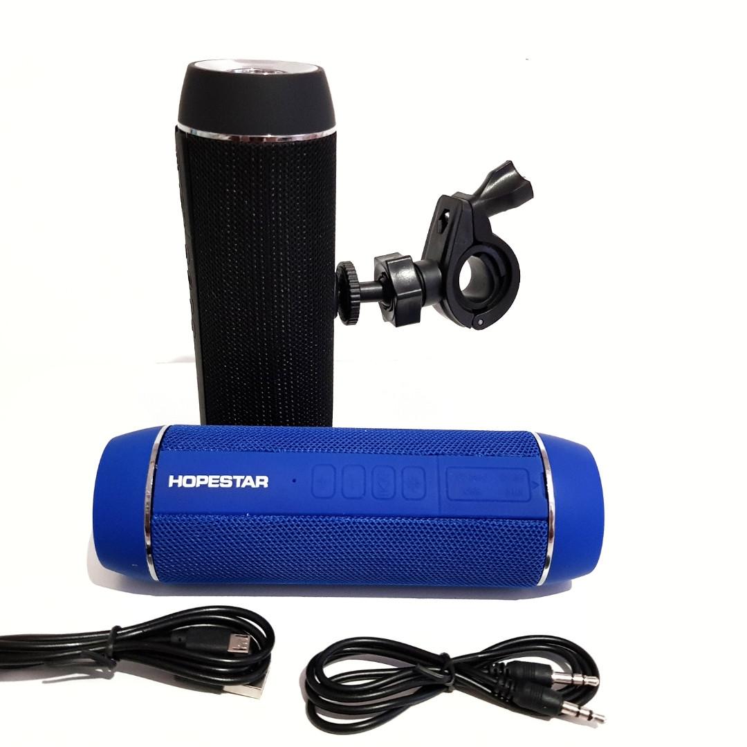 Беспроводная портативная Bluetooth колонка Hopestar P11 с фонариком
