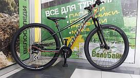 """Велосипед Ghost 27.5"""" Kato2 2017 рамаM FO-GRN/AR-GRN/NE-RED 17KA3725"""