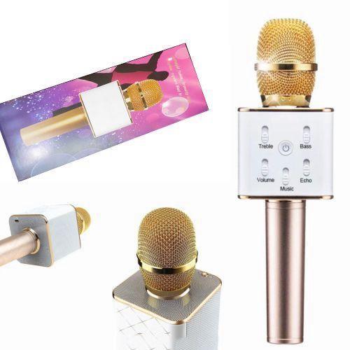 Радио микрофон + караоке Q7