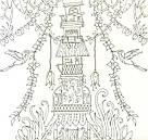 Раскраска антистресс Удивительные джунгли Книга для творчества и вдохновения (мягк переплет) , фото 3