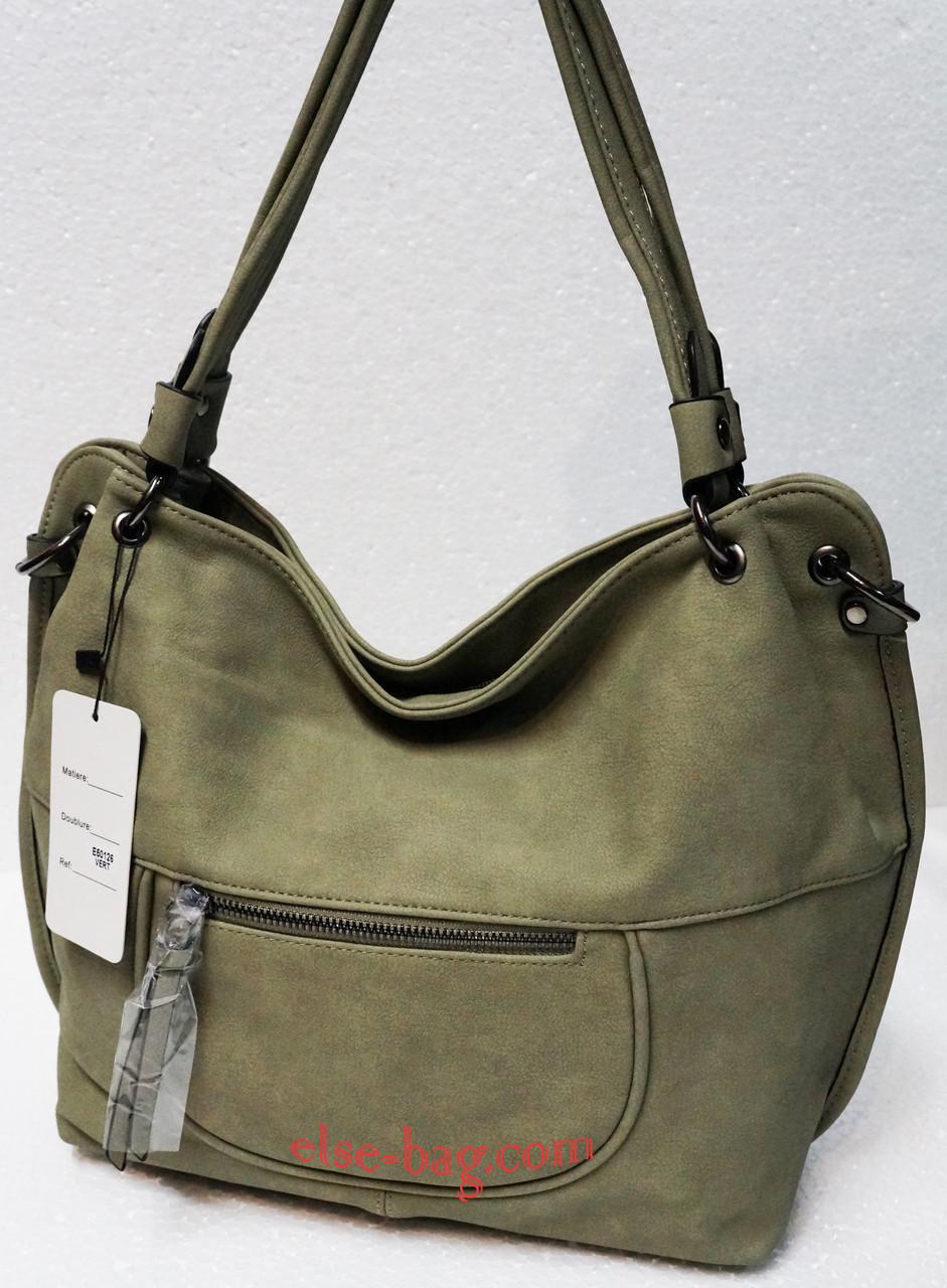 Мягкая сумка с карманом