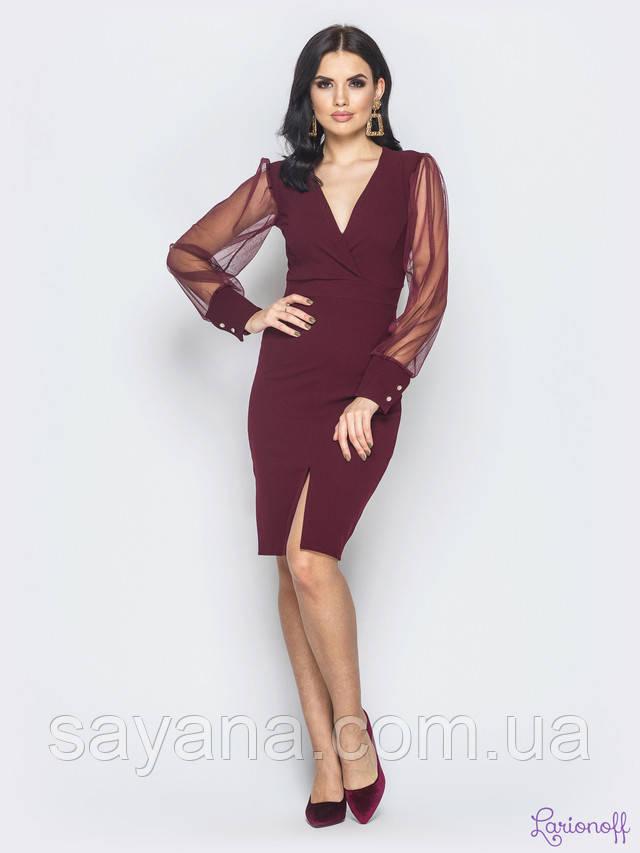 женское платье с декором опт
