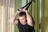 Тяга для блочного тренажера для двух рук