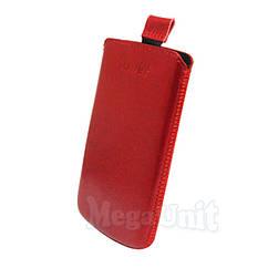 Шкіряний чохол Apple iPhone 4/4S. Mavis Premium Червоний