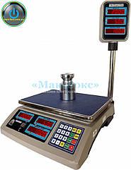 Весы торговые с поверкой 15 кг ВТНЕ/2 15Т2 с RS (Дозавтоматы)