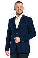 Мужской пиджак с прорезными карманами Victor Enzo 5021