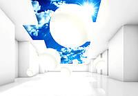 Фотообои на бумаге,  с эффектом  3D   Decoart  11852-Р8   для гостиной, спальни, детской   3,68*2,54