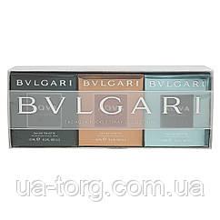 Подарочный набор для мужчин Bvlgari  the Agva pocket spray collection