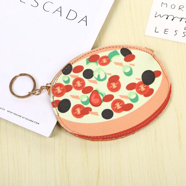 Брелок-гаманець pizza