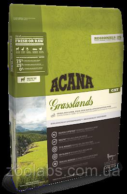 Корм Acana для кошек и котят с ягненком | Acana Grasslands Cat 1,8 кг