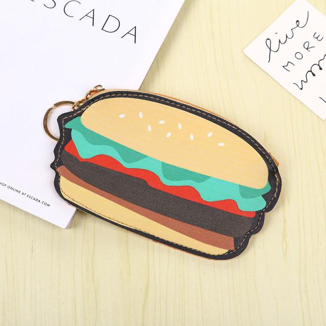 брелок-гаманець hamburger