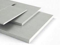 Куски алюминиевого листа 85 мм Д16