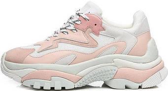 "Женские кроссовки Ash Addict Sneakers ""Pink/White"" (люкс копия)"