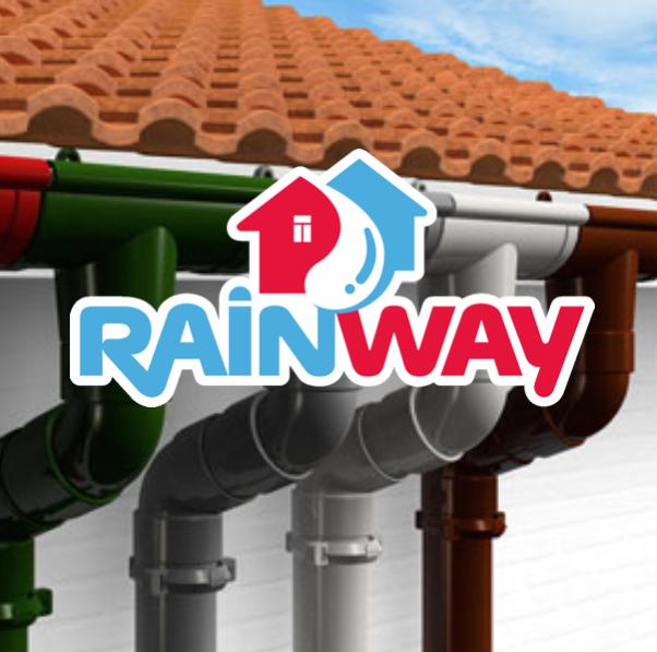 Желоб Водосточная система RainWay 90 мм