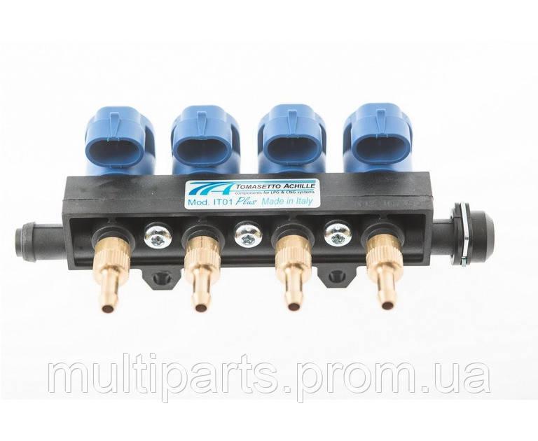 Газовые Форсунки Tomasetto IT01 2 Ohm на 4 цилиндра