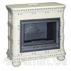 Печь-камин Invicta BOHEME (слоновая кость керамика)