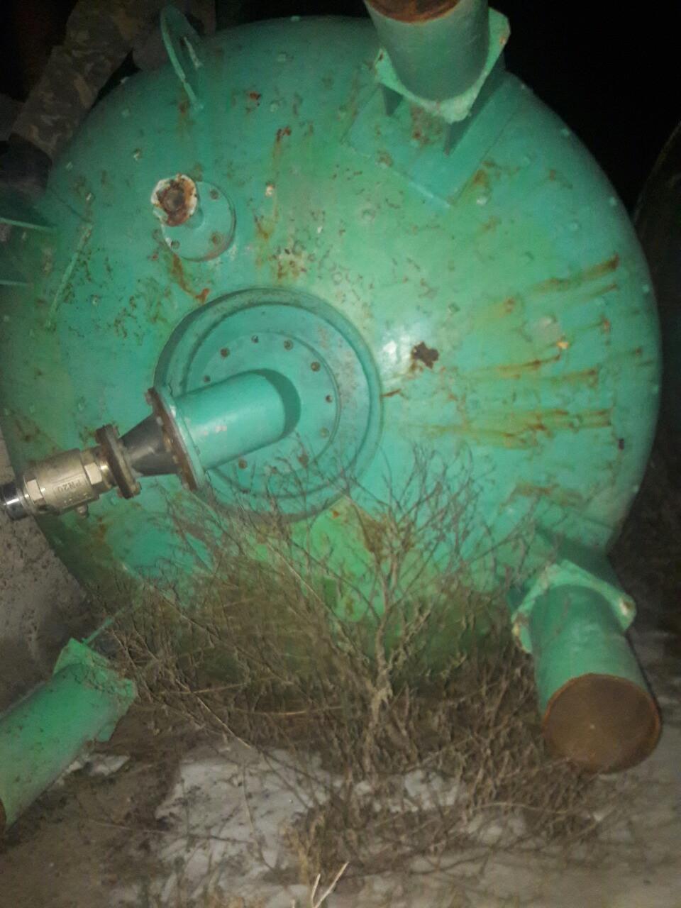 Термосбраживатель эмалированный 10 м куб