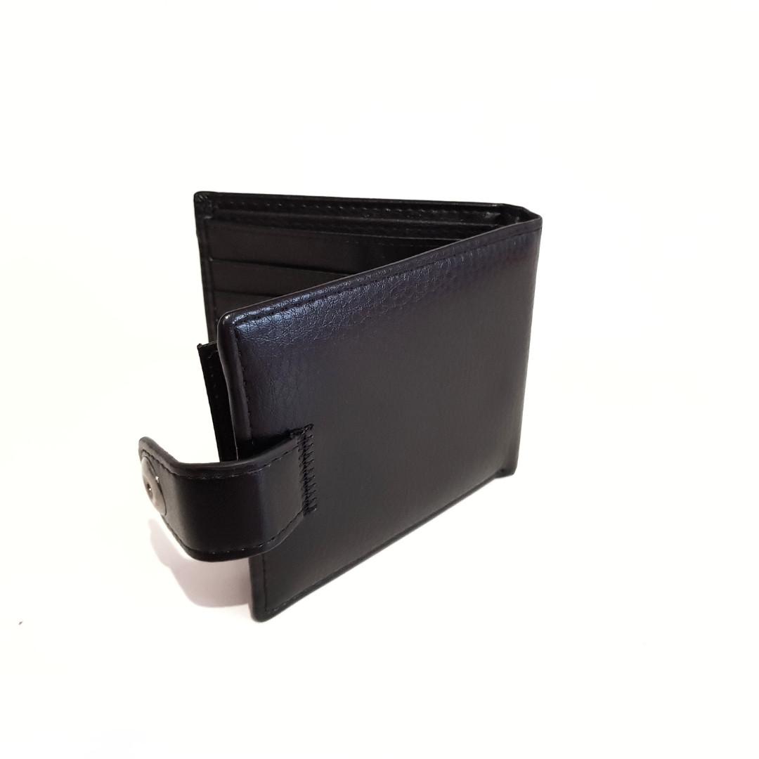 Мужской карманный кошелек портмоне.PRU кожа