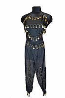 Костюм для восточных танцев детский черный