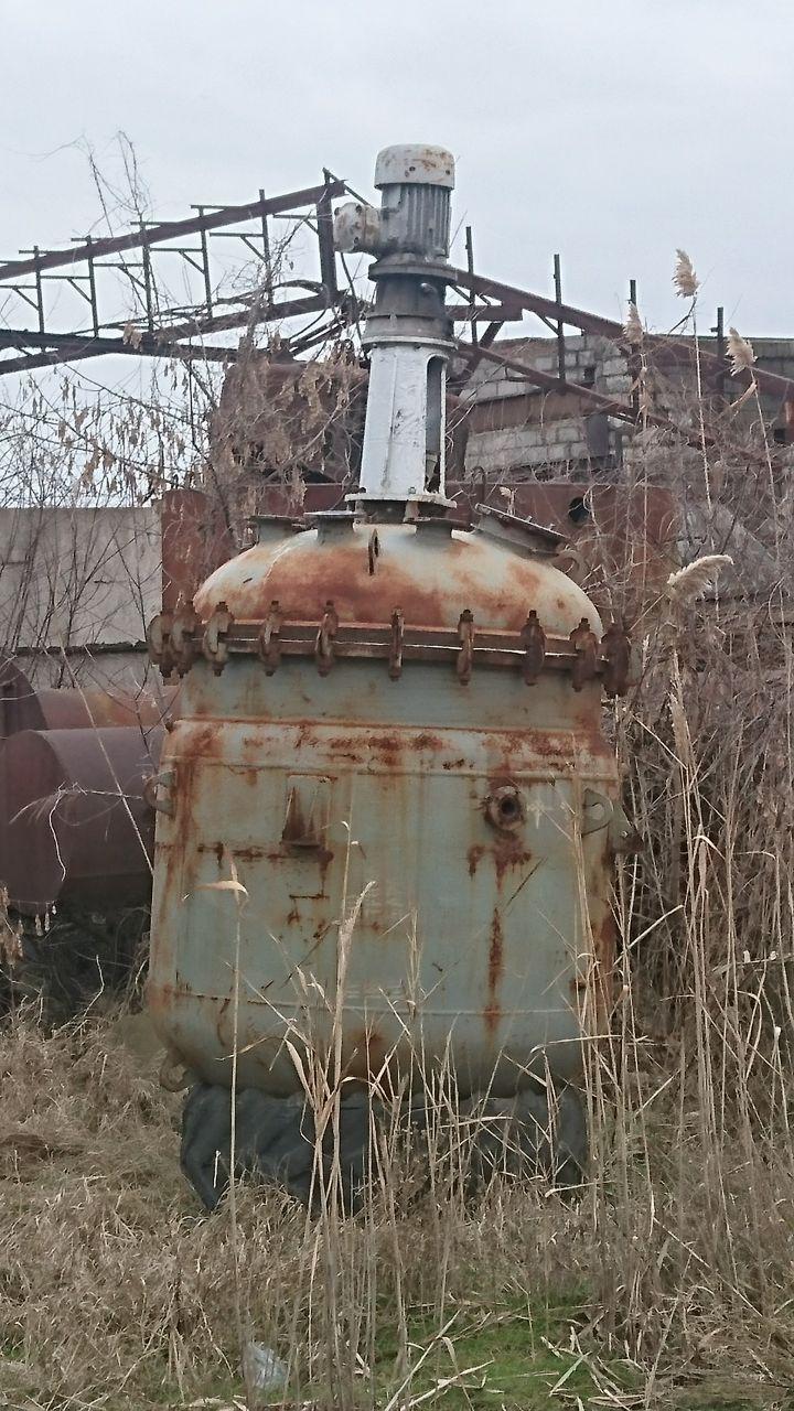 Реактор СЭРН эмалированный 2.5 м куб