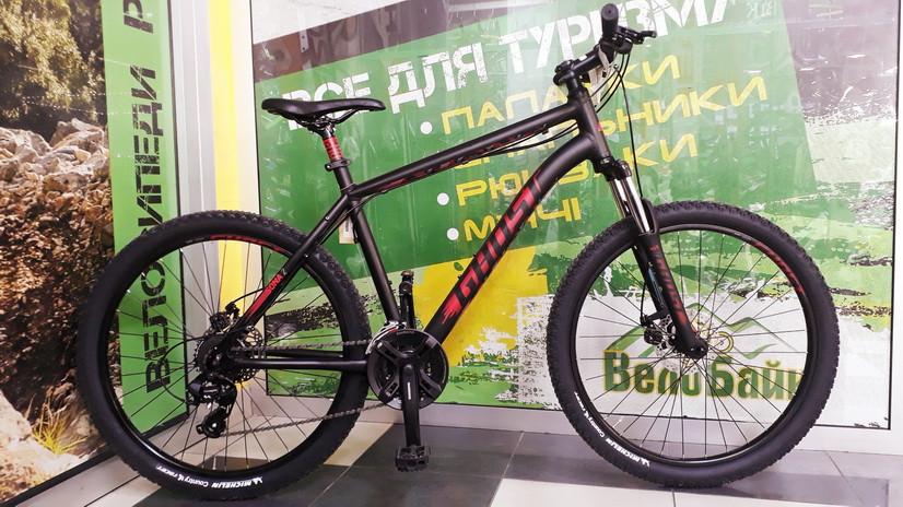 "Велосипед Ghost 26"" Sona2 2016 рама L black/red/gray 16SO3505"